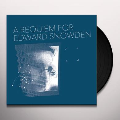 Matthew Collings REQUIEM FOR EDWARD SNOWDEN Vinyl Record