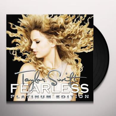 Taylor Swift FEARLESS PLATINUM EDITION Vinyl Record