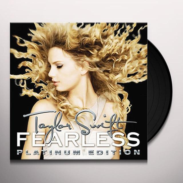 Taylor Swift FEARLESS PLATINUM EDITION Vinyl Record - Gatefold Sleeve