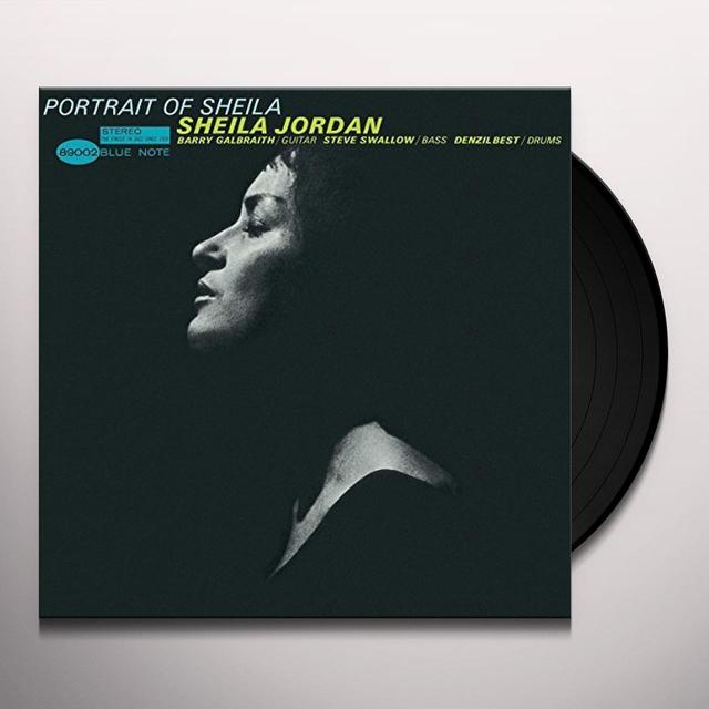 Sheila Jordan PORTRAIT OF SHEILA Vinyl Record - Reissue
