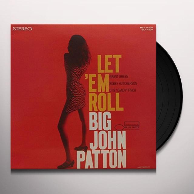 John Patton LET EM ROLL Vinyl Record - Reissue