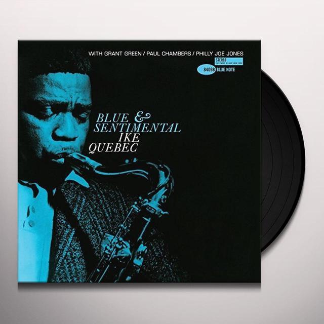 Ike Quebec BLUE & SENTIMENTAL Vinyl Record