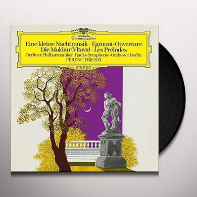 MOZART / FRICSAY / BERLINER PHILHARMONIKER SERENADE EINE KLEINE NACHTMUSIK / BEETHOVEN: MUSIC Vinyl Record