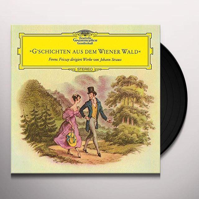 STRAUSS / FRICSAY / RADIO-SYMPHONIE-ORCHESTER BERL G'SCHICHTEN AUS DEM WIENERWALD Vinyl Record