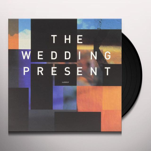 The Wedding Present 4 LIEDER Vinyl Record - 10 Inch Single