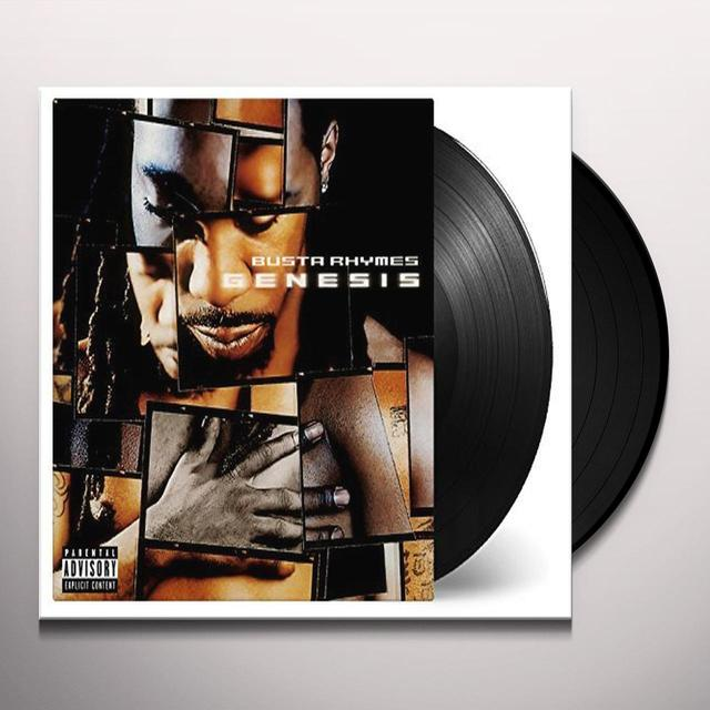 Busta Rhymes GENESIS Vinyl Record - Holland Import
