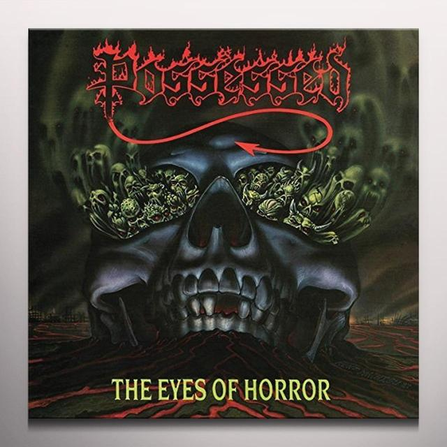 Possessed EYES OF HORROR (RED SPLATTER) Vinyl Record