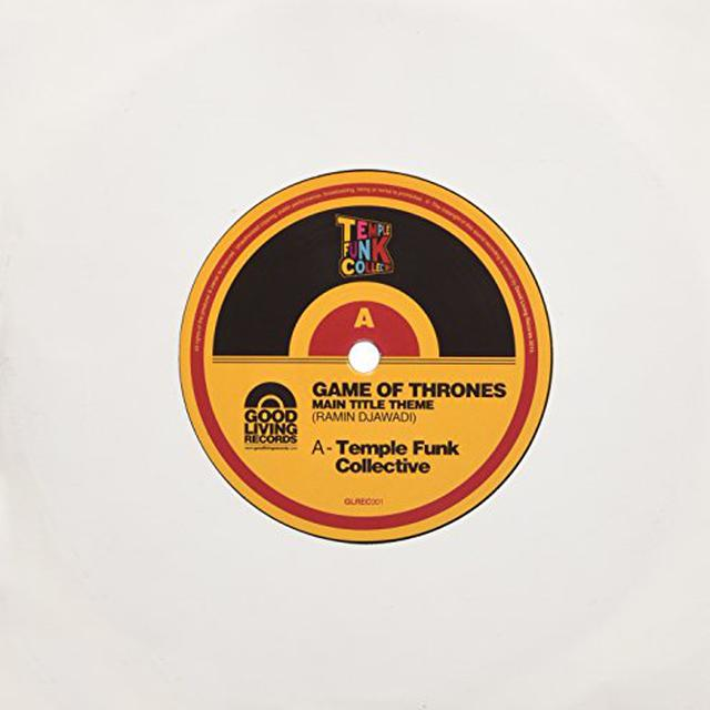 TEMPLE FUNK COLLECTIVE GAME OF THRONES Vinyl Record