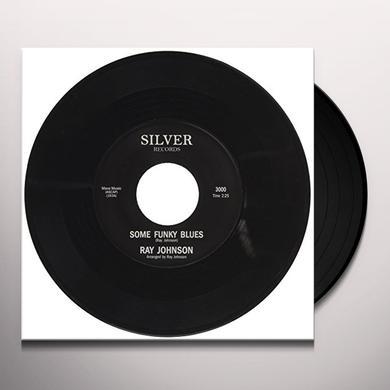 Ray Johnson SOME FUNKY BLUES Vinyl Record