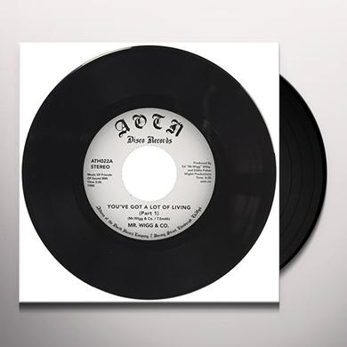MR. WIGG & CO YOU'VE GOT A LOT OF LIVING Vinyl Record