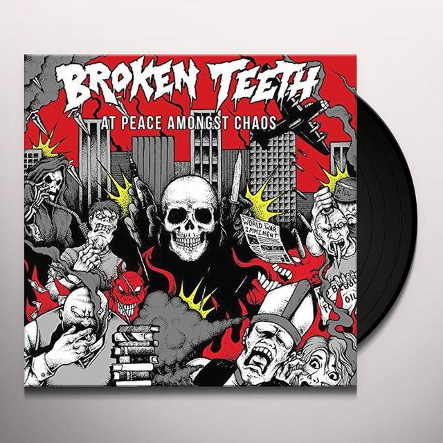BROKEN TEETH HC AT PEACE AMONGST CHAOS Vinyl Record