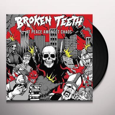 BROKEN TEETH HC AT PEACE AMONGST CHAOS Vinyl Record - UK Import