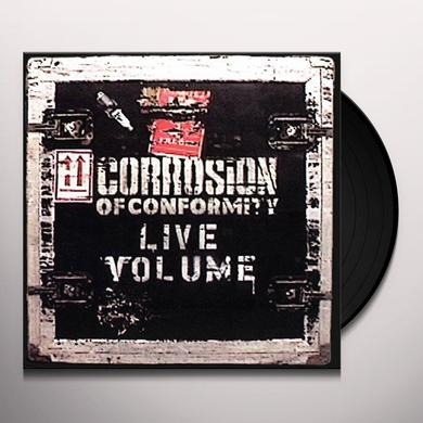 Corrosion Of Conformity LIVE VOLUME Vinyl Record - UK Import