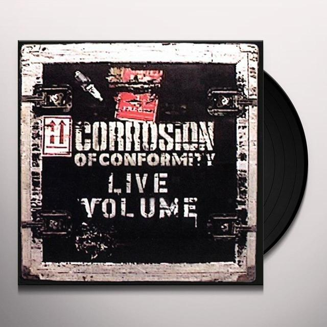 Corrosion Of Conformity LIVE VOLUME Vinyl Record - UK Import