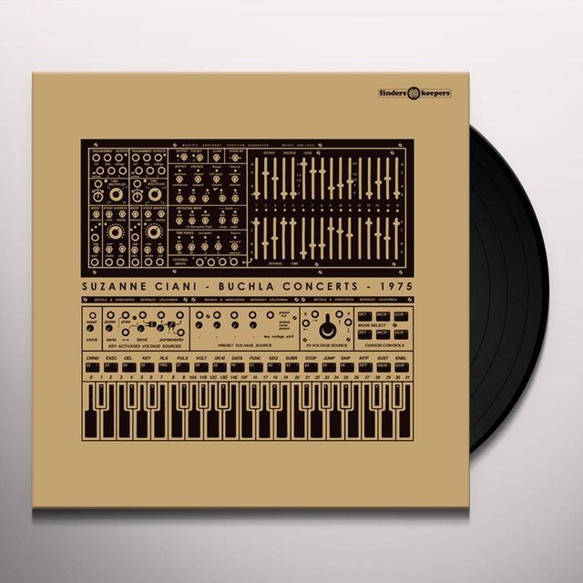 Suzanne Ciani BUCHLA CONCERTS 1975 Vinyl Record - UK Release