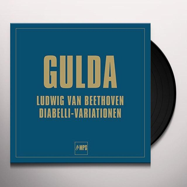 Fredrich Gulda DIABELLI VARIATIONS Vinyl Record - UK Import