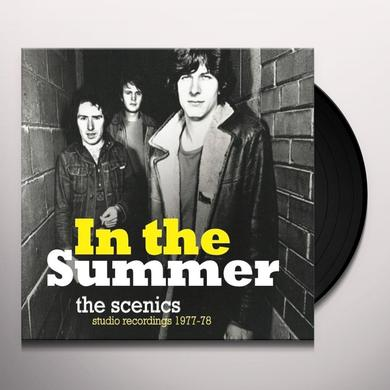 SCENICS IN THE SUMMER: STUDIO RECORDINGS 1977/78 Vinyl Record