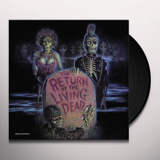 RETURN OF THE LIVING DEAD / O.S.T. (LTD) RETURN OF THE LIVING DEAD / O.S.T. Vinyl Record - Limited Edition