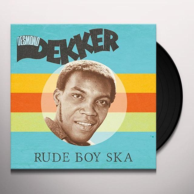 Desmond Dekker RUDE BOY SKANK Vinyl Record