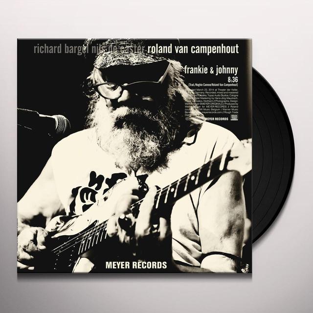 Roland Campenhout FRANKIE & JOHNNY Vinyl Record - 10 Inch Single