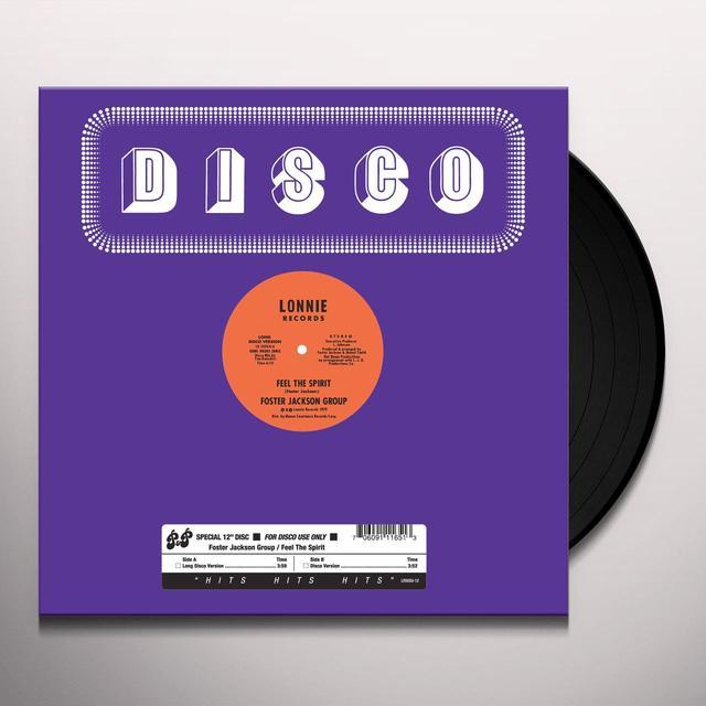 Foster Jackson Group FEEL THE SPIRIT Vinyl Record