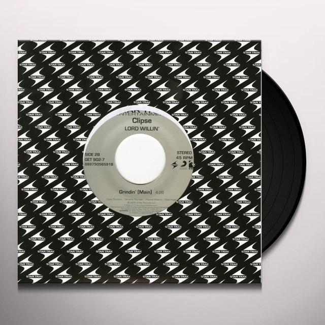 Clipse VIRGINIA / GRINDIN' Vinyl Record