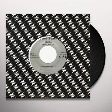Clipse FAMALAY FREESTYLE / WHEN THE LAST TIME Vinyl Record