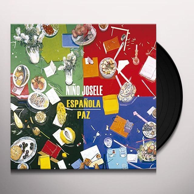 Nino Josele ESPANOLA + PAZ Vinyl Record - w/CD, Spain Import