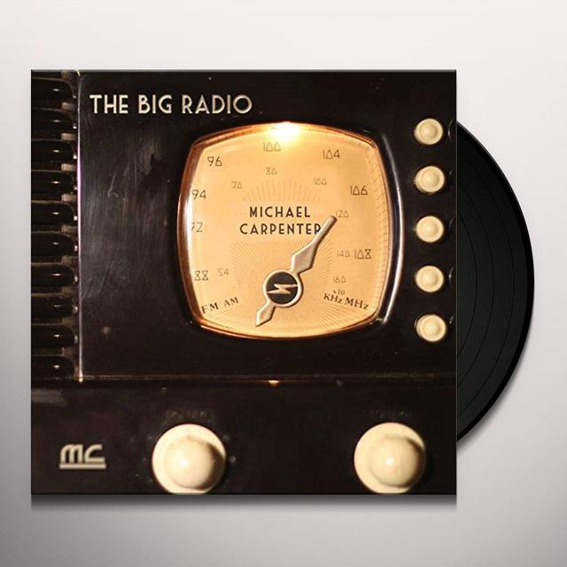 Michael Carpenter BIG RADIO Vinyl Record - Australia Release