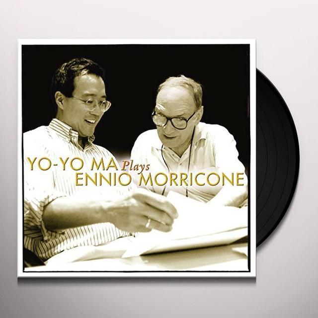 Yo-Yo Ma PLAYS ENNIO MORRICONE Vinyl Record