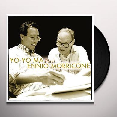 Yo-Yo Ma PLAYS ENNIO MORRICONE Vinyl Record - Holland Import