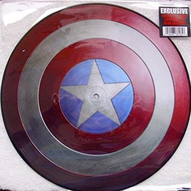 MARVEL'S MUSIC FROM CAPTAIN AMERICA Vinyl Record - Canada Release