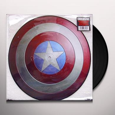 MARVEL'S MUSIC FROM CAPTAIN AMERICA Vinyl Record - Canada Import
