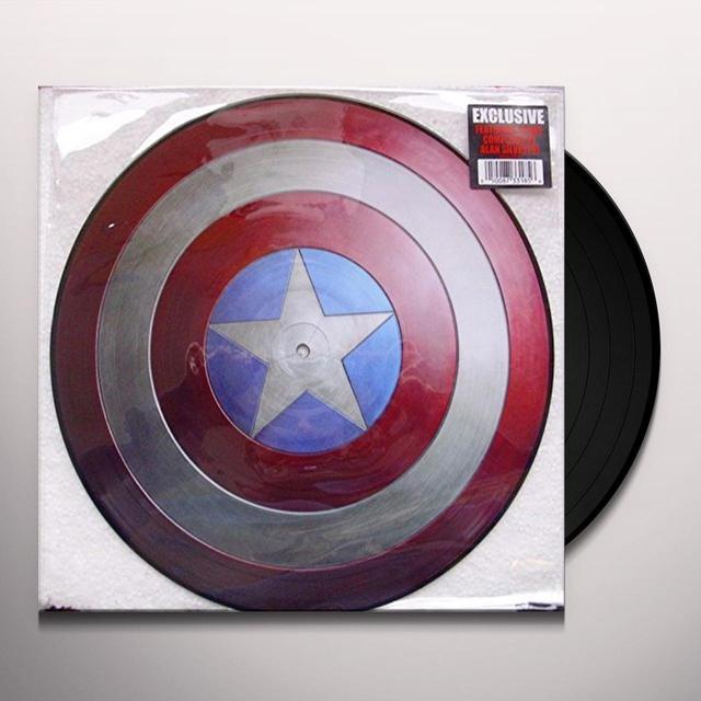 MARVEL'S MUSIC FROM CAPTAIN AMERICA Vinyl Record - Canada Import
