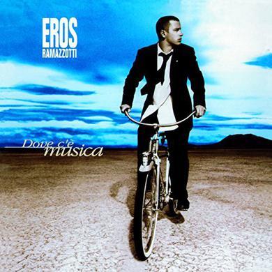 Eros Ramazzotti DOVE C'E MUSICA Vinyl Record