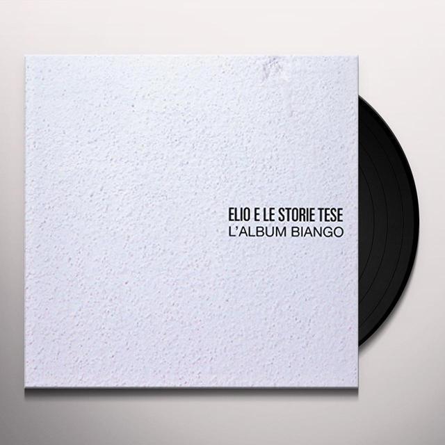 ELIO E LE STORIE TESE ALBUM BIANGO Vinyl Record