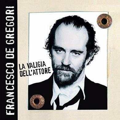 Francesco De Gregori LA VALIGIA DELL'ATTORE Vinyl Record