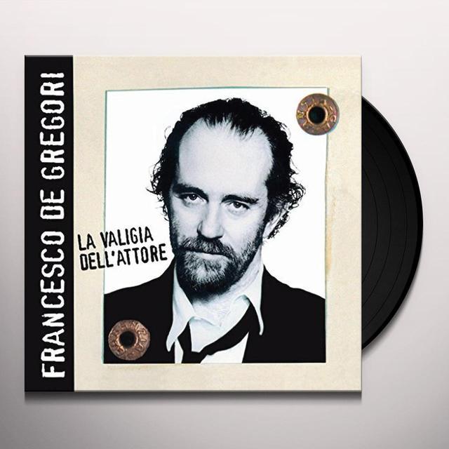 DE GREGORI,FRANCESCO LA VALIGIA DELL'ATTORE Vinyl Record - Italy Import