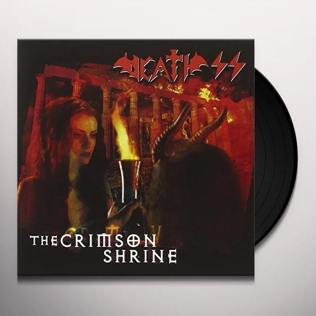 Death Ss CRIMSON SHRINE Vinyl Record