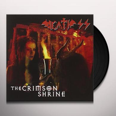 Death Ss CRIMSON SHRINE Vinyl Record - Italy Import
