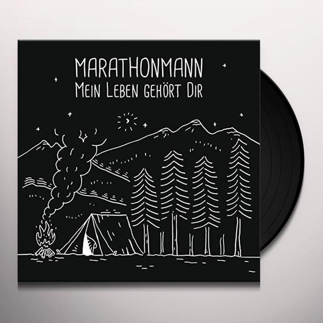 Marathonmann MEIN LEBEN GEHORT DIR  (GER) Vinyl Record - w/CD
