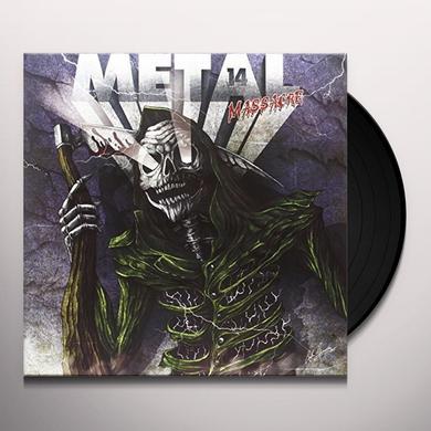 METAL MASSACRE XIV Vinyl Record - UK Import