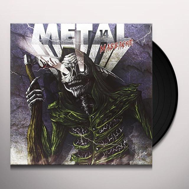 METAL MASSACRE XIV Vinyl Record