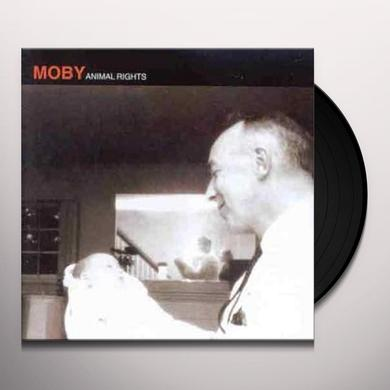 Moby ANIMAL RIGHTS Vinyl Record - UK Import