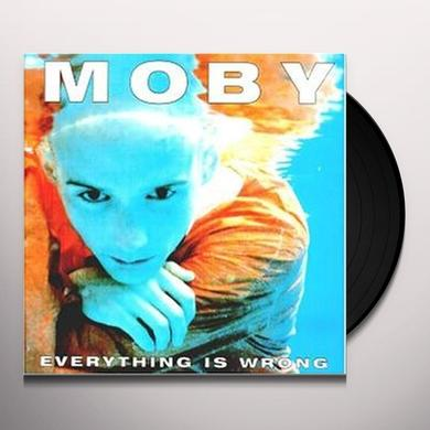 Moby EVERYTHING IS WRONG Vinyl Record - UK Import