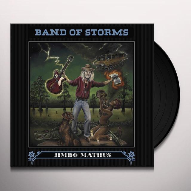 Jimbo Mathus BAND OF STORMS Vinyl Record