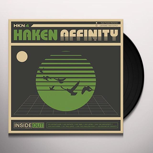 Haken AFFINITY (BLACK VINYL) Vinyl Record