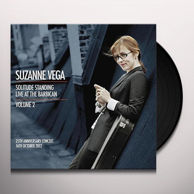Suzanne Vega LIVE AT THE BARBICAN 2 Vinyl Record