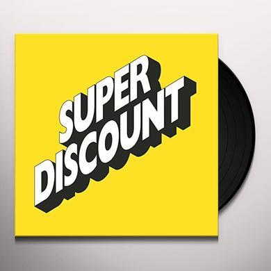 Étienne de Crécy SUPER DISCOUNT 1 Vinyl Record - Deluxe Edition