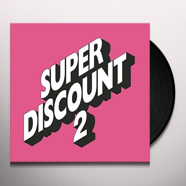 Étienne de Crécy SUPER DISCOUNT 2 Vinyl Record - Deluxe Edition